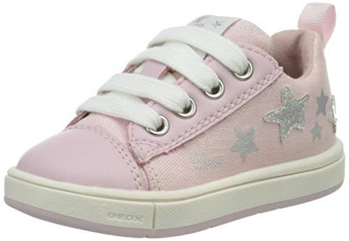 Geox B TROTTOLA Girl D, Sneakers Basses Bébé Fille, Rose (Pink C8004), 20 EU