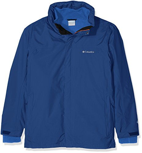 Columbia Mission Air Interchange Jacket Veste 3 en 1 Homme, Marine Blue, FR : 2XL (Taille Fabricant : XXL)