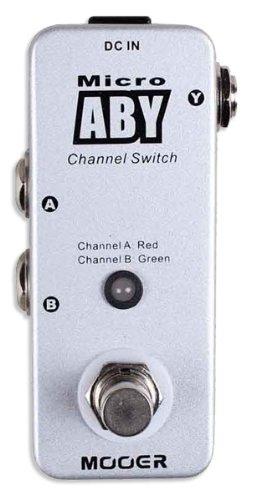 Mooer Micro ABY Pedal A/B Switch Box MK II Y-A-B/A-B-Y Y-A+B
