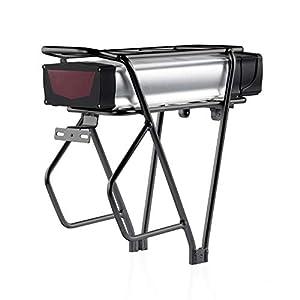 SEASON E-Bike AKKU Lithium-Ionen 48V 20Ah mit Gepäckträger, Elektrofahrrad Batterie für 1000W 1500W Motor