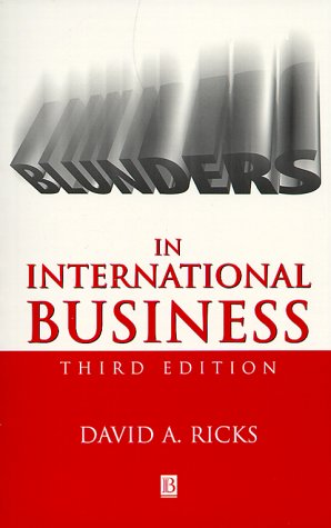 Blunders in International Business (Blackwell Business)
