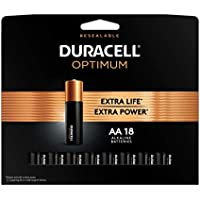 18-Count Duracell Optimum AA Alkaline Batteries
