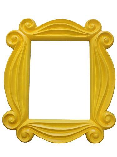 Friends amarillo mirilla para puerta TV Monica marco de fotos para colgar F-R-I-E-N-D-S