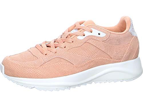 Woden Sneakers Sophie Snake Suede 40, 606 Pink Sand