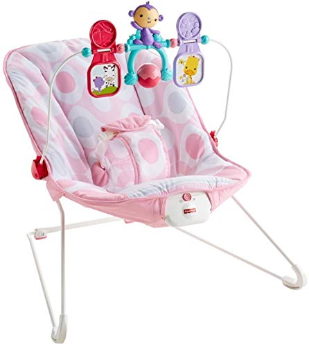 Fisher-Price Baby's Bouncer – Pink Ellipse