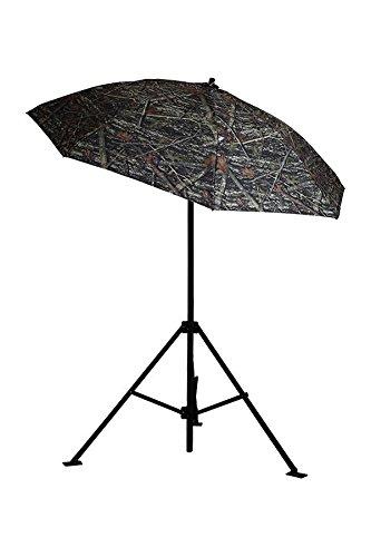 LAPCO LAP-UM7ACCX Vinyl Heavy-Duty Industrial Umbrella, True Timber Camo, 7