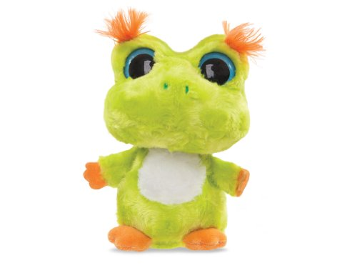 Aurora World 60333 - Yoo Hoo & Friends Anura Horned Gehörnter Frosch 5In, 12.5 cm