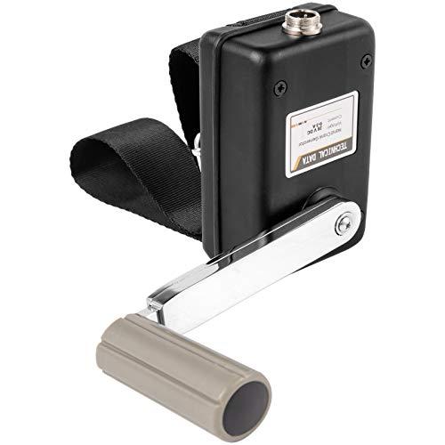 VEVOR Hand Power Generator 30W, Hand Crank Generator 0-28V, DC Regulator with USB Plug Black, Hand Crank Power Generator for Outdoor Mobile Phone Computer Charging, Hand Crank DC Generator