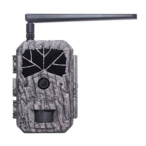 BolyGuard 4G Wireless Wildlife Trail Kamera GPRS 36MP 1080p mit Nachtsicht Bewegungsaktivierte Spielkamera mit No Glow 940nm IR LEDs für Garten