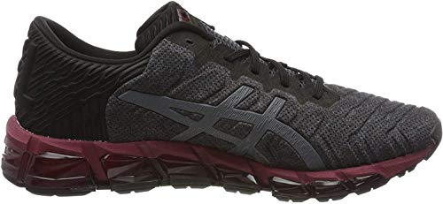 Asics Mens Gel-Quantum 360 5 Running Shoe, Black/Carrier Grey, 47 EU