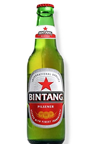 6 x Bintang Lager Bier aus Indonesien 0,33 l Flasche inkl. Pfand (5,41E/L)