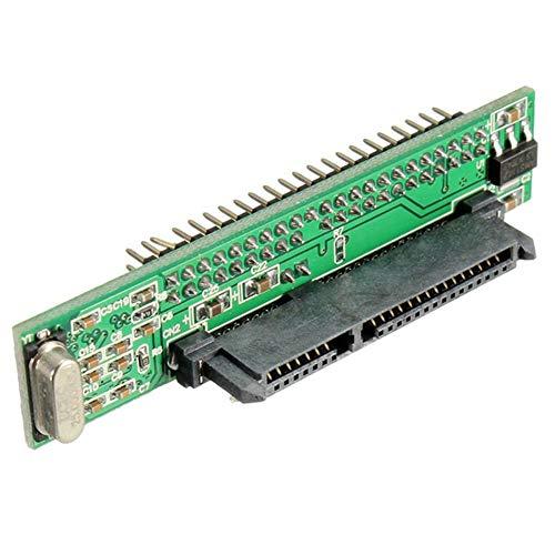 "K19 2.5"" SATA Festplatte 22pin auf 44pin IDE HDD SSD Notebook Konverter Adapter"