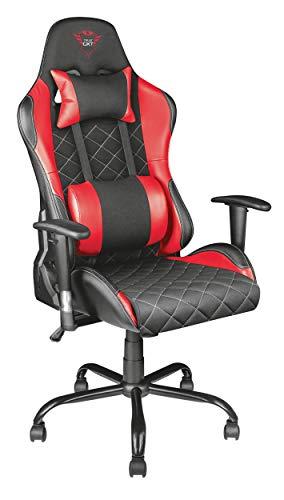 Trust Gaming GXT 707R Resto - Silla para Gaming, Color Rojo