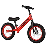 LRBBH Bicicleta de Equilibrio para Niños sin Pedales de 2 a 7 Años de Edad de 14 Pulgadas de 14 Pulgadas para Niños Correderos Bicicleta Bicicleta Bicicleta Bicicleta para Niños Bike Ajustable Manill