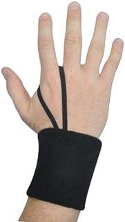Champro Wrist Sweatband or Down Indicator (Black, 3-Inch) by Champro