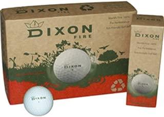 Dixon Fire Golf Balls (1 Dozen)