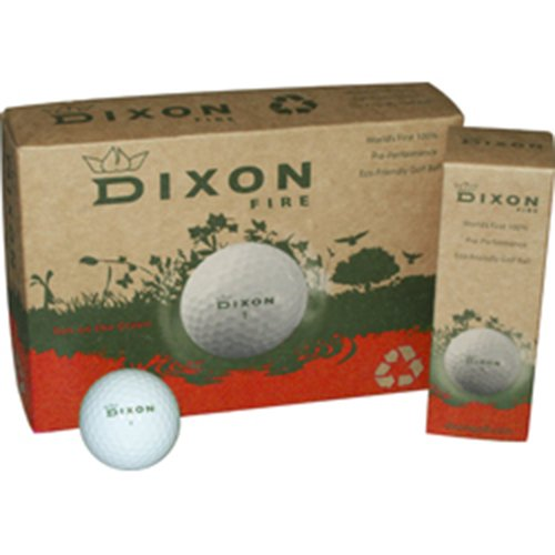 Dixon Fire Golf Balls (1 Dozen)