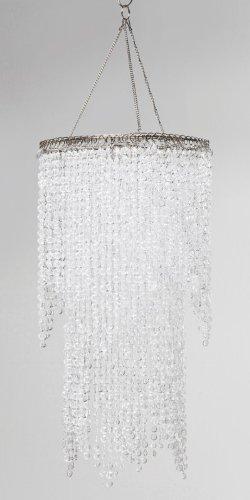 Hängeleuchte Lampenschirm Beads Clear