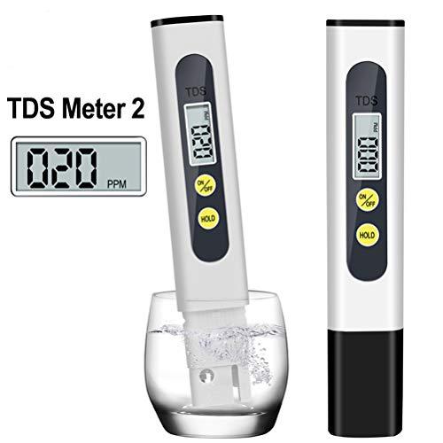 Profi Digitale Wasserqualitätstester PH Messgerät, Wassertestgerät Ph Chlor, Tragbarer Wasseraufbereiter Water Test Meter, Ideal Wasser Tester