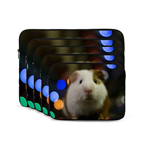 Guinea Pig Laptop Sleeve 17 inch, Shock Resistant Notebook Briefcase, Computer Protective Bag, Tablet Carrying Case for MacBook Pro/MacBook Air/Asus/Dell/Lenovo/Hp/Samsung/Sony