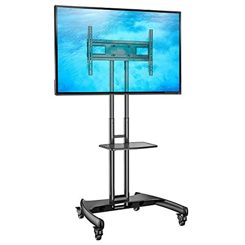 NB AVA1500B noir - Pied à roulettes réglable pour TV LCD / LED / plasma 81 cm -165 cm (32\