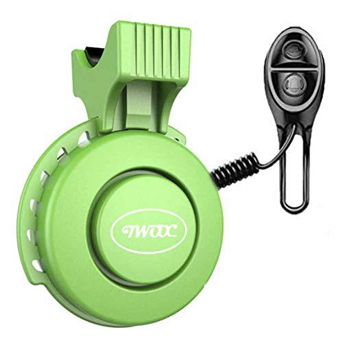 Elektrische Fietstoeter 120db USB Oplaadbare Waterdichte Fietsbel Fiets Elektronisch Stuur Barbell voor Mountain/Racefiets/Scooter Stuur 22-31,8 mm