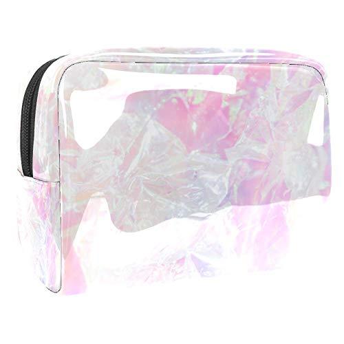 Tragbare Make-up-Tasche mit Reißverschluss, Reise-Kulturbeutel für Frauen, praktische...