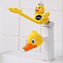 Water Tap Children's Sink Extender Baby Hand Wassen Kraan Extension Uitloop Artefact Waterpijp Splash-proof Cartoon (Kleu...