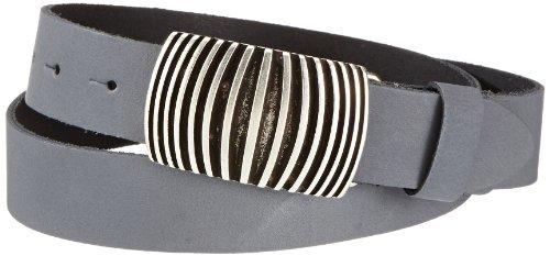 MGM Damen Gürtel 970-9729, Gr. 90, Grau (grau)