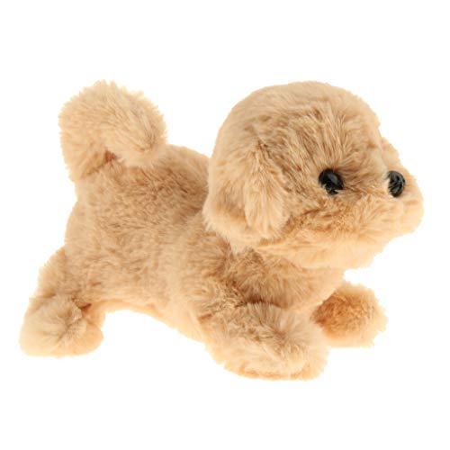 Elektronisches Hund Plüschhund mit Funktionen Pädagogisches Spielzeug für Kinder - Golden Retriever Hund