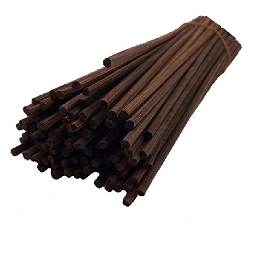 Uniharpa Natural Reed Diffuser Sticks 7 Inch Long Set of 102 (Brwon)