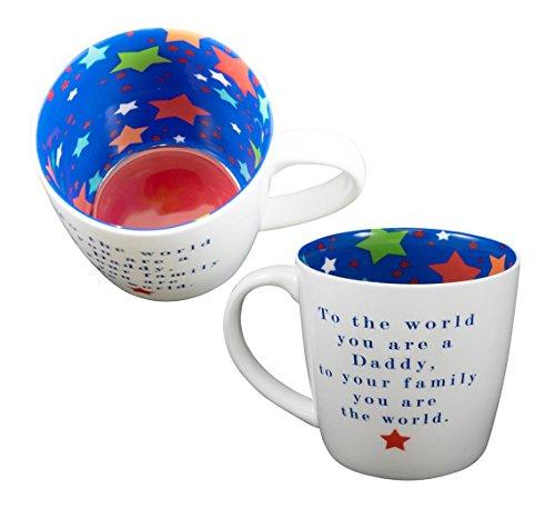 Tasse ~ Céramique thé/café ~ Vice Versa Tasse POUR THE WORLD YOU SONT UN PAPA