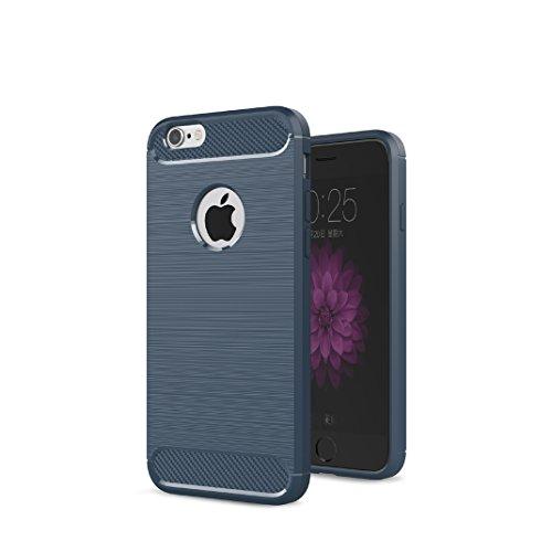 Iphone 6 Plus 6S Plus Custodia, Protettiva Case Cover Custodia in silicone per Iphone 6 Plus 6S Plus - Blu