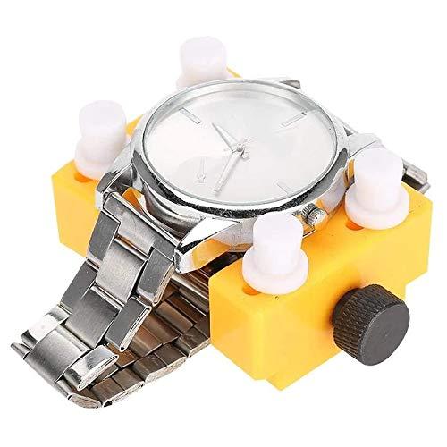Sailsbury Juego de 8 extractores de carcasas de reloj ajustables con 5 palancas y 1 tela para la cubierta del reloj.