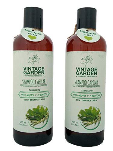 Shampoo Cabello Graso marca Vintage Garden