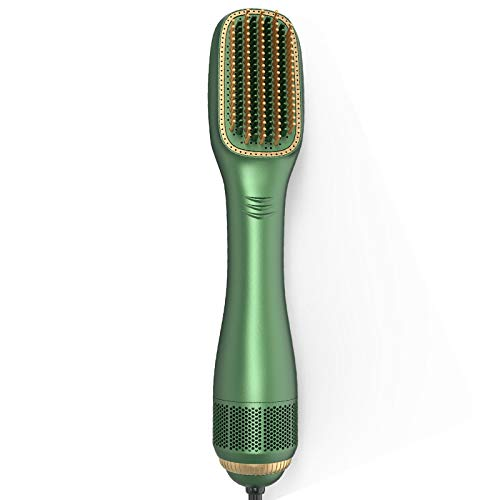Peigne à air chaud Negative Ionic Hair Straightener Brush Electric Hair Dryer Hot Air Brush Dual-use Hairdryer Blow Comb Hair Styling Tools