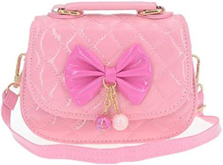 Little Girls Crossbody Purses for Kids Toddler Mini Cute Princess Handbags Shoulder Bag Bowknot product image