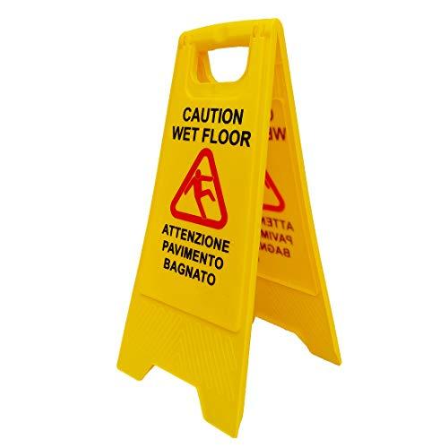 Euroservice - Cartello Avviso Pavimento Bagnato (Wet Floor)