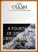 ポスター エドワード ルッシェ Fountain of Crystal 2009 額装品 ウッドベーシックフレーム(オレンジ)