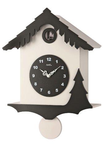 AMS Reloj de cuco moderno – Moderno Sytyle – Oferta de Uhren-Park Eble Flying Bird – 7391