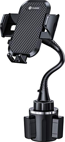 [Newest Version] Andobil 2021 Upgrade Universal Car Cup Phone Holder, 13in Long Neck [Adjustable & Sturdy Stable] Gooseneck Auto Cup Phone Mount Fit with All iPhone/Pro Max/Samsung/Note/Galaxy & Other