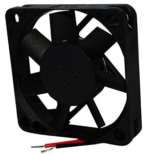 Aerzetix ventilator voor PC-behuizing, 12 V, 45 x 45 x 10 mm, 17,8 m3/h, 31 dBA, 5700 rpm, 26 AWG