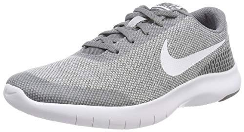 Nike Kids Flex Experience RN 7 (GS) Wolf Grey/White Cool Grey Running Shoe, 6 Big Kid
