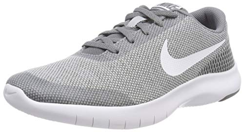 Nike Kids Flex Experience RN 7 (GS) Running Shoe, Wolf Grey/White Cool Grey, 7 Big Kid