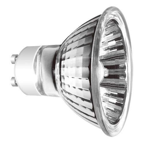 10x Halogenlampe GU10 20W 35W 50W für Einbaustrahler, Einbauspot, Tischlampe (20) 0,99€/Stück