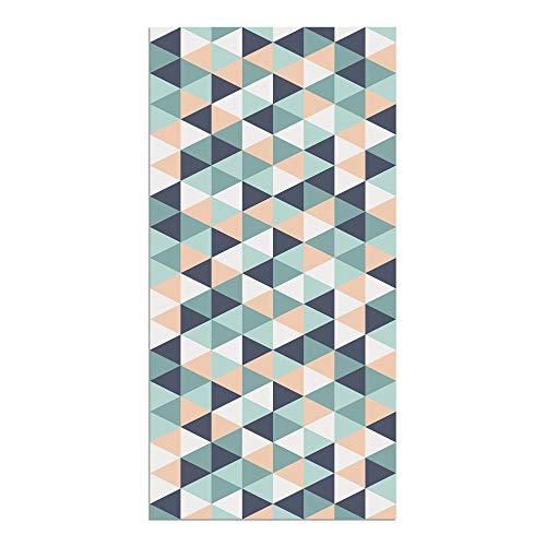 Alfombra Vinílica, Geométrico, 160 x 80 x 0.2 cm, Multicolor, ALV-046