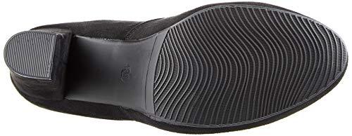 Stiefelparadies Flandell - Stivali da donna sopra il ginocchio, (nero), 41 EU