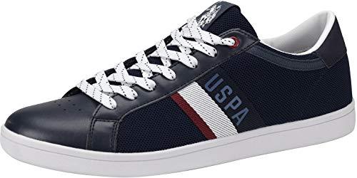 U.S. POLO ASSN. 4052S9/MY1 Herren Sneakers Dunkelblau, EU 43