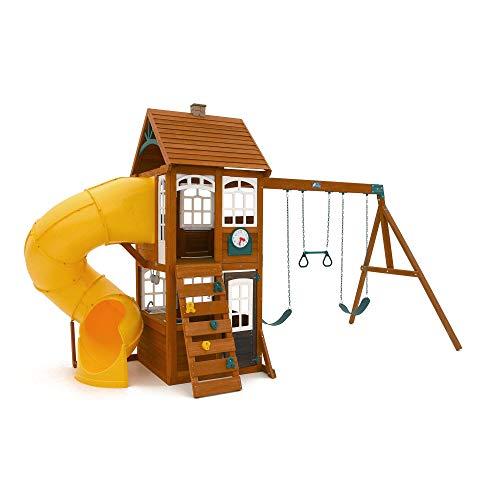 KidKraft Creston Lodge Kinder-Spielset aus Holz, für den Außenbereich