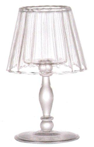 ガラスに反射するロウソクの光に癒されます♪【DULTON S95545 Glass candle holder S ダルトン ガラスキャンドルホルダー(S)】アメリカン雑貨アメリカ雑貨